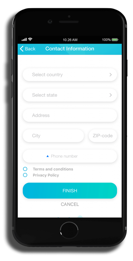 mobile app step five